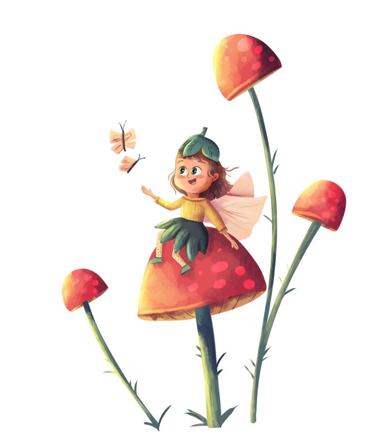 The Toadstool Fairy